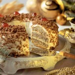 Przepis na świąteczny tort makowo-orzechowy