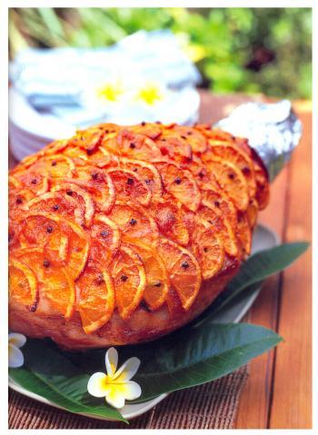 Szynka w pomarańczach na Wielkanoc